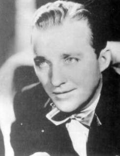 Bing Crosby, 1935. Crosby started his career as a singer with Paul Whiteman's band. From there he went on to a spectacularly successful career on records, in the movies, and on radio. Berigan worked in a number of bands backing Crosby on records in the early 1930s.